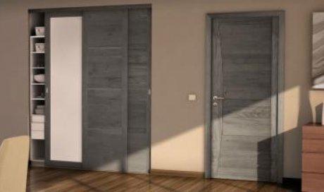 Installation de porte intérieur bois à Clermont-Ferrand