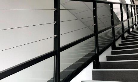 Garde corps intérieur aluminium à clermont-ferrand