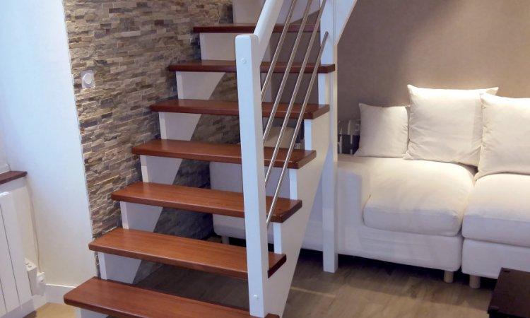 Installation et pose d'escalier sur mesure àClermont-Ferrandet sa région.