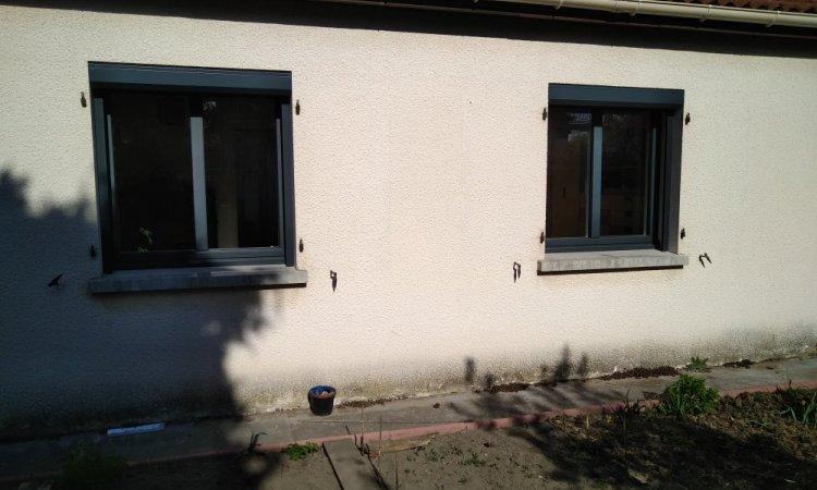 Installation fenêtre en aluminium à Lempdes